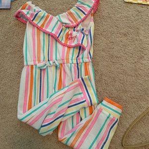 Toddler Girl Betsy Johnson Romper NWOT 3T